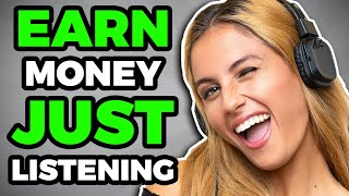 Earn $250+ A Day Online JUST LISTENING (Work From Home Jobs)