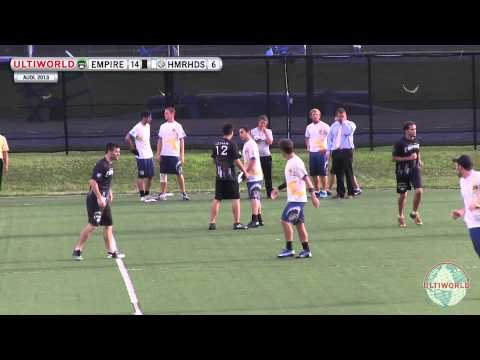 AUDL 2013: New Jersey Hammerheads v. New York Empire (July 13)