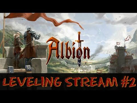 Albion Online Leveling Stream #2 - Player Housing | PVE Expeditions | Farming