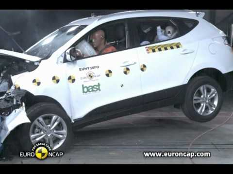 All new Hyundai IX35 2011 Euro NCAP Crash Test