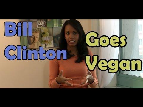 Is Bill Clinton Vegan? - Jovanka Ciares