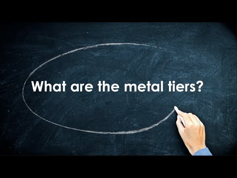 Health Insurance 101: What are the metal tiers?
