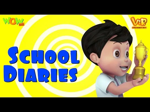 Vir The Robot Boy | Hindi Cartoon For Kids | School Diaries | Animated Series| Wow Kidz