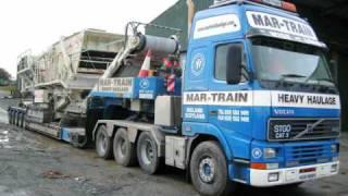 heavy haulage companies northern ireland donnell&ellis mar train wj law o'neil
