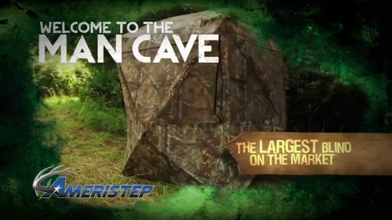 Man Cave Hunting Blind : Man cave commercial youtube