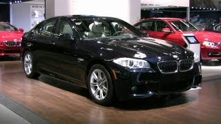 2012 BMW 528i Exterior and Interior at 2012 Montreal auto show