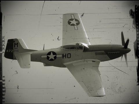 Legendarne Samoloty P-51 Mustang
