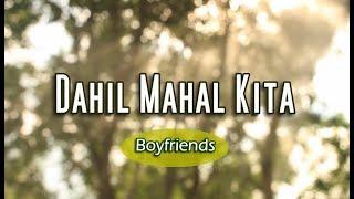 Dahil Mahal Kita - Boyfriends (KARAOKE)