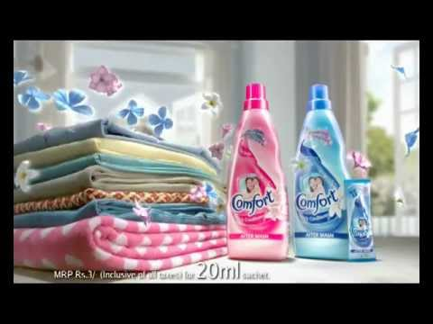 Comfort Fabric Conditioner 'Dancing Clothes'