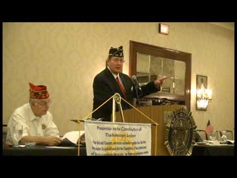 How to hold an American Legion meeting