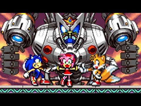 Sonic Advance 3 (GBA) All Bosses (No Damage)