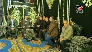 «الخطيب» والعامري فاروق ومحسن صالح في عزاء خالد توحيد