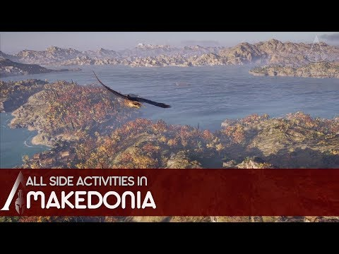 Assassin's Creed Odyssey - All side activities in Makedonia