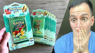 *MAN FINDS RARE POKEMON CARDS PACKS IN ATTIC!* Opening One!