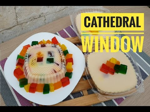 Cathedral Window   How To Make Cathedral Window (classic Dessert)