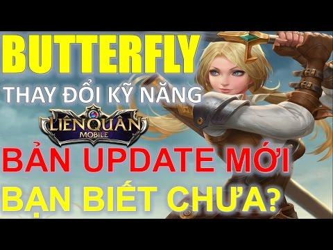 Liên Quân Mobile: ButterFly - Được tăng sức mạnh trong bản update sắp tới - Nakroth hãy coi chừng!