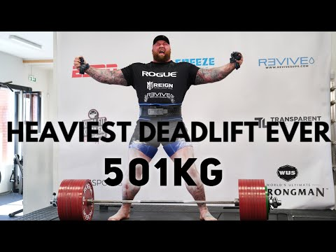WORLD RECORD DEADLIFT 501KG! Behind the scenes! Subscribe for extra support!