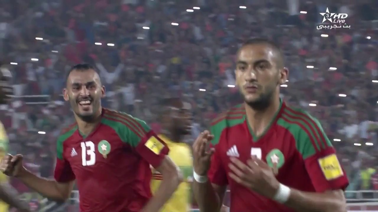 Morocco vs Mali 6-0 1/09/2017 All goals highlights coupe du monde  Qualification