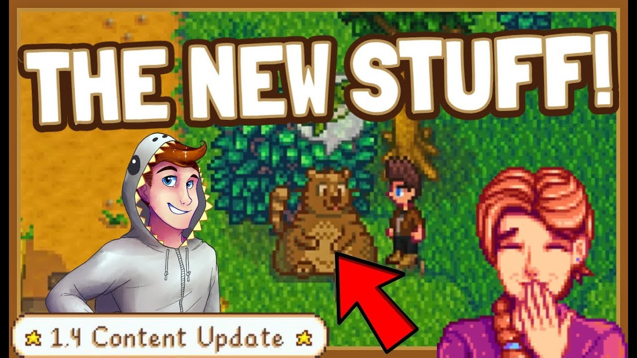 Showcasing Some Of The New 1 4 Items And Content Stardew Valley