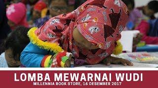 Lomba Mewarnai Bersama Wudi di Millennia Book Store Cirendeu