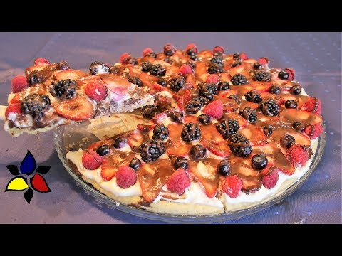 Gluten-free Loyal Fruit Pizza