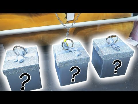 Which box is the prize in?