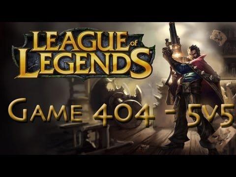 LoL Game 404 - 5v5 - Graves