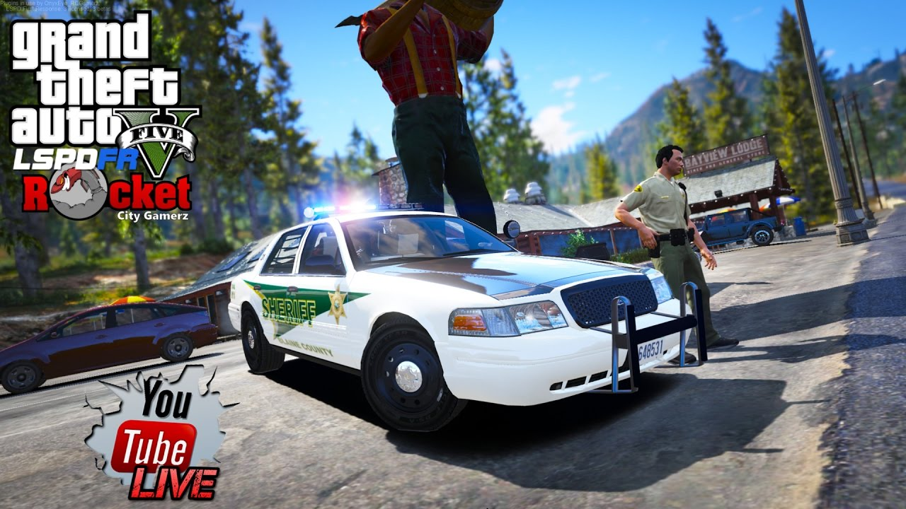 Blaine County Sheriff's Office Patrol! | GTA 5 LSPDFR COPS (RECORDED LIVE!)
