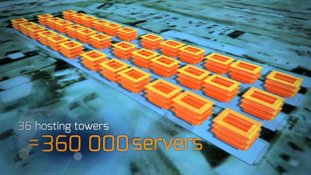 The world's largest data center - YouTube