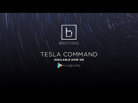 You can now control your Tesla car with Android Wear – your dreams have come true!