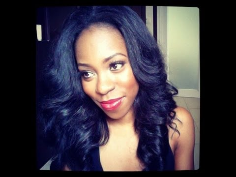 How To Get Sleek Curls With A Flat Iron Youtube