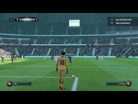 FIFA 18 Shakhtar Donetsk v Spartak Moscow