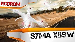 видео Радиоуправляемый квадрокоптер Syma X8SW