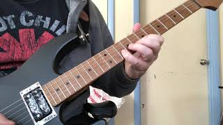 Styx - Too Much Time On My Hands Solo Cover Axe FX III