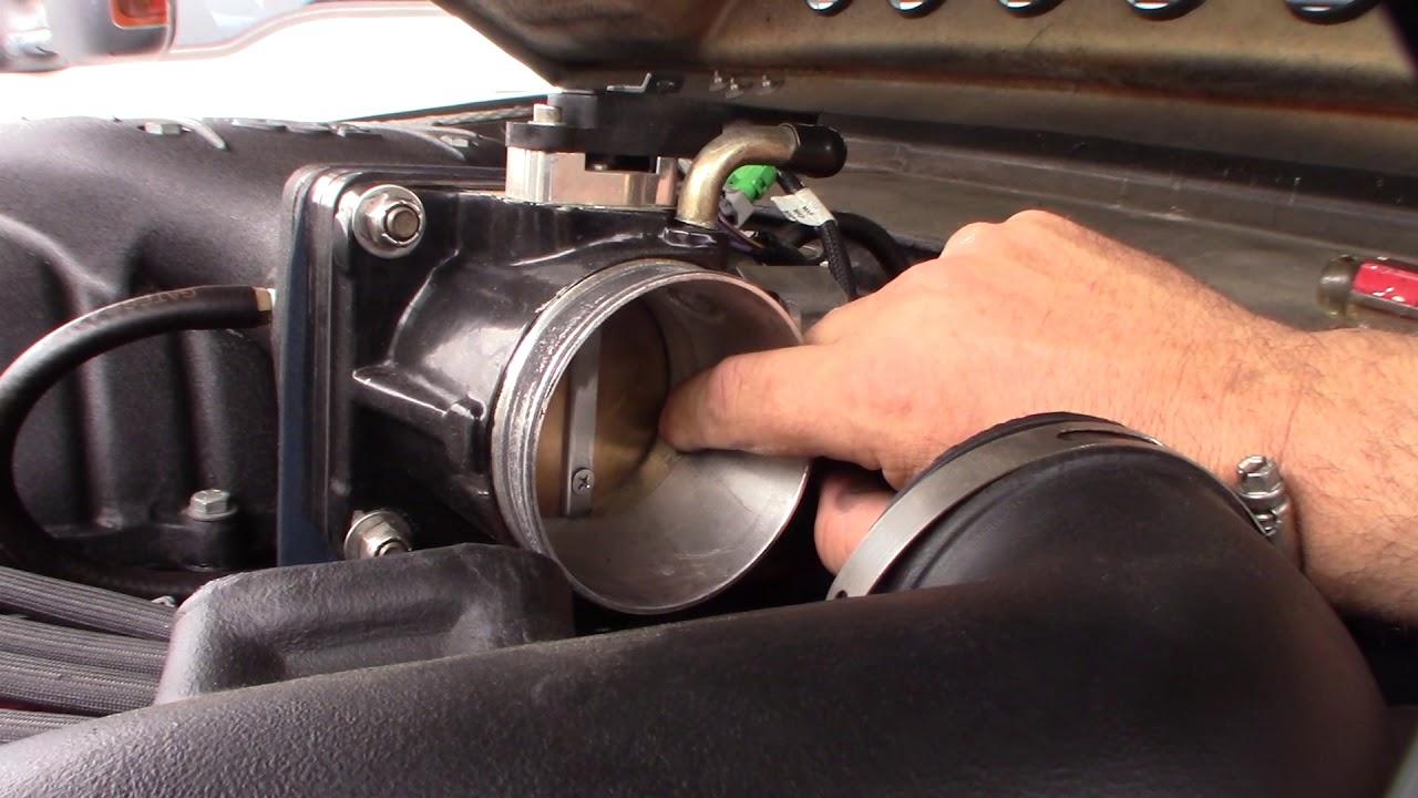 Bad IAC idle air control valve hard start high idle vacuum leak