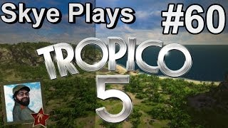 Tropico 5 Gameplay: Part 60 ► Great Giant Tropical Spiders ! ◀Campaign Walkthrough and Tips [PC]