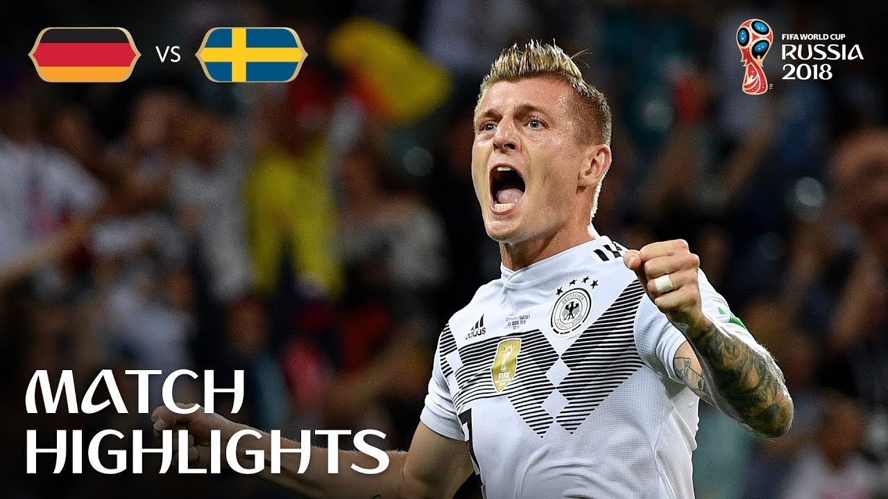 Germany v Sweden – 2018 FIFA World Cup Russia™ – Match 27