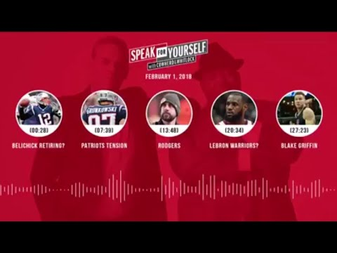 SPEAK FOR YOURSELF Audio Podcast (2.1.18) with Colin Cowherd, Jason Whitlock | SPEAK FOR YOURSELF