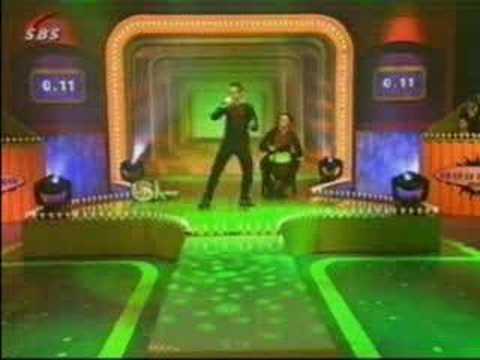 "TV Show (2003) - Old Footage. Dutch TV programm ""D'r op of d'r onder"""