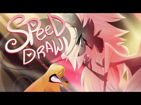 SPEED DRAW- Celestina (Zoophobia)- Vivziepop