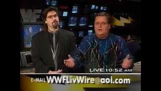 Jim Ross has a bad day on LiveWire