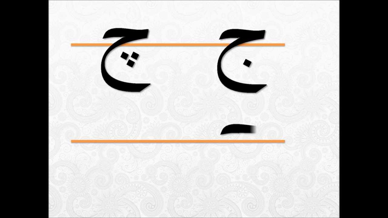 Drawing Persian Letters » Persian Language Online