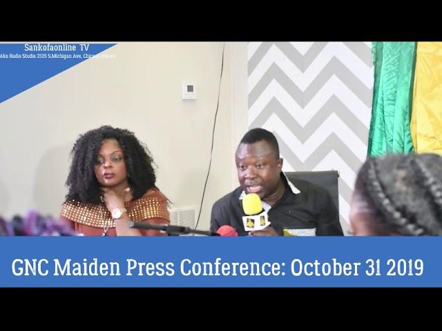 GNC Press Conference : FN Secretary