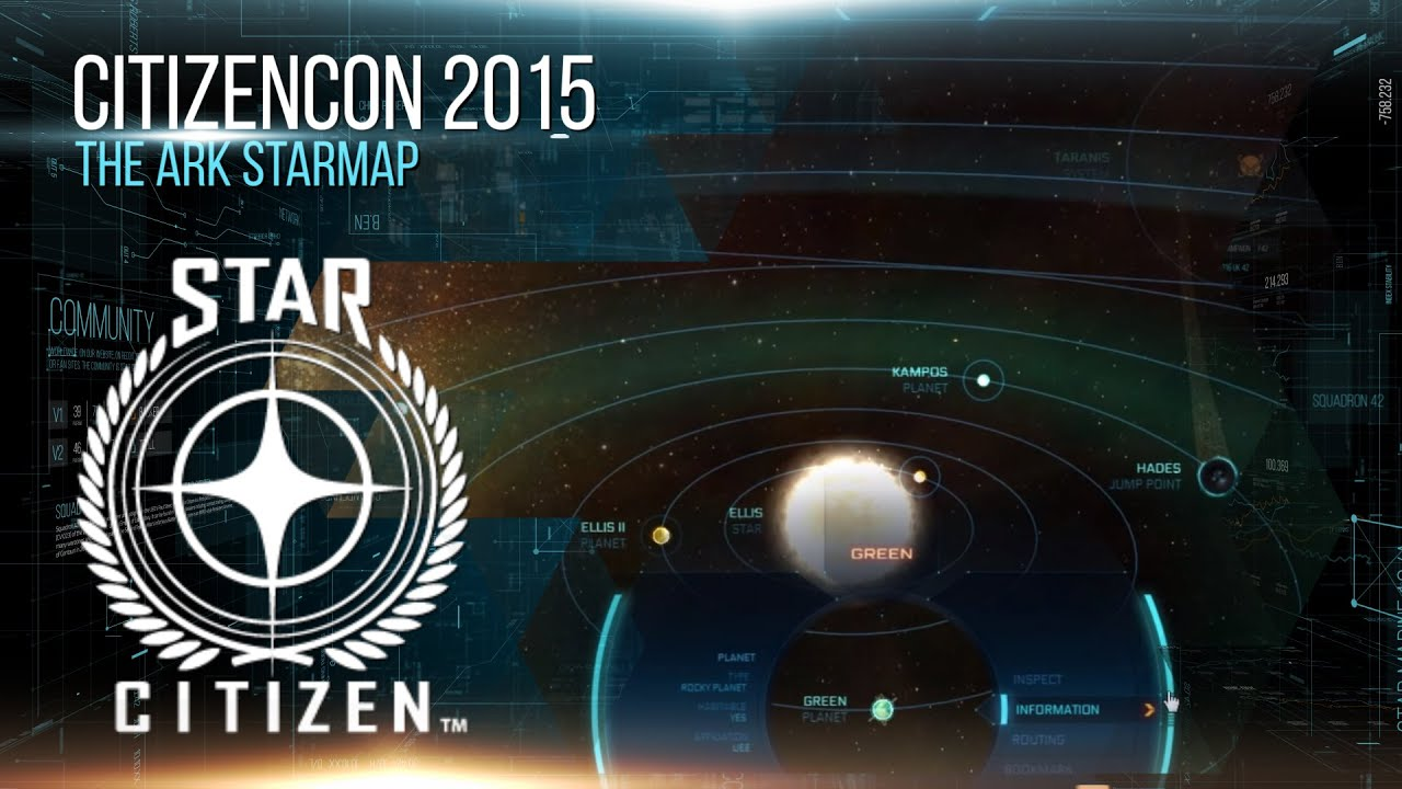 Star Citizen Star Map Youtube