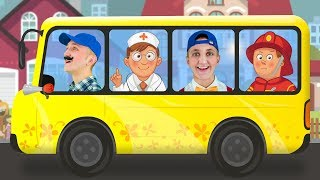 The Bus Song - Super Simple Nursery Rhymes Song. Sing Along With Tiki.