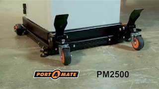 Heavy Duty Universal Mobile Base BORA Portamate PM 2500 [Using Guide]