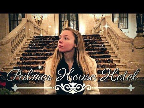 Exploring The Palmer House Hotel | Chicago Vlog pt. 2