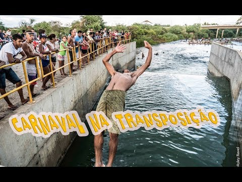 Enquanto isso, no canal da transposição, em Monteiro...