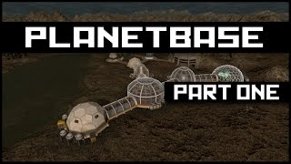 Planetbase - Class S: A new Planet | Planetbase Campaign Gameplay