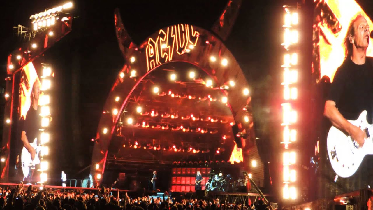 ac dc highway to hell live domain stadium perth australia youtube. Black Bedroom Furniture Sets. Home Design Ideas